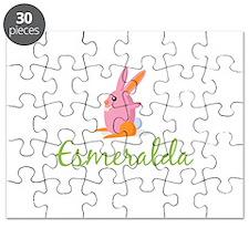 Easter Bunny Esmeralda Puzzle