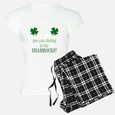 Staring at my Shamrocks? Pajamas