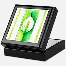 Peace Lilly Keepsake Box