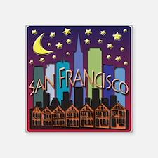 San Francisco Skyline Mega Color Sticker