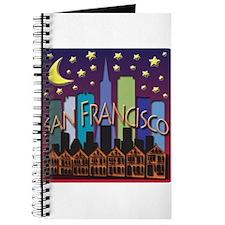San Francisco Skyline Mega Color Journal