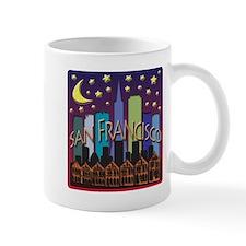San Francisco Skyline Mega Color Mug