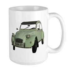 I love my 2CV - Ente - Deuche - Tin Snail Mug