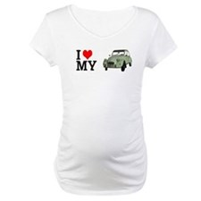 I love my 2CV - Ente - Deuche - Tin Snail Maternit