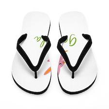 Easter Bunny Gabriela Flip Flops