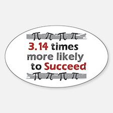 Pi Success Funny Math Decal