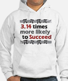 Pi Success Funny Math Hoodie