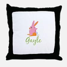 Easter Bunny Gayle Throw Pillow