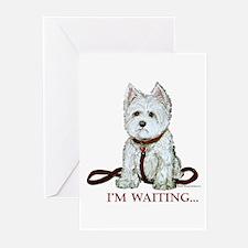 Westie Walks Greeting Cards (Pk of 10)