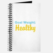 Goal Weight: Healthy Journal