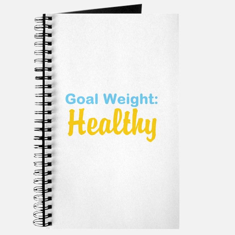Goal Weight: Healthy Journal