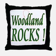 Woodland Rocks ! Throw Pillow