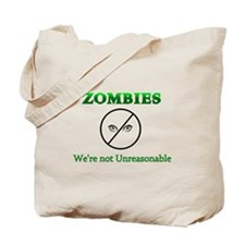Zombie Reasonable Tote Bag