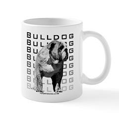 Bulldog Mug - Urban Bulldog Design