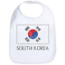 South Korea Flag Bib