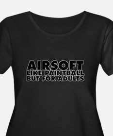 Airsoft... Like Paintball but for Adults Plus Size
