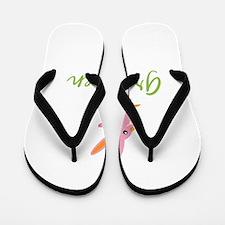 Easter Bunny Gretchen Flip Flops