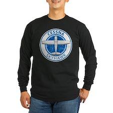 Aviation Cessna Skyhawk Long Sleeve T-Shirt