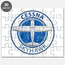 Aviation Cessna Skyhawk Puzzle