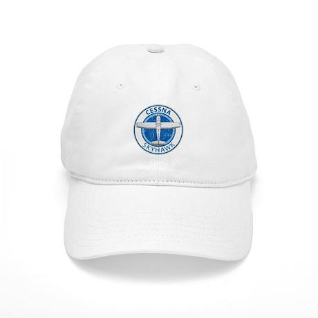 Aviation Cessna Skyhawk Baseball Cap