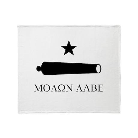 Molon Labe Throw Blanket