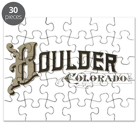 Boulder Colorado Puzzle