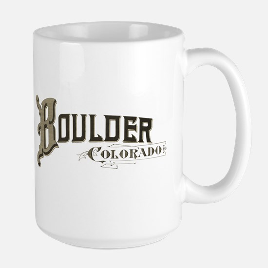 Boulder Colorado Large Mug