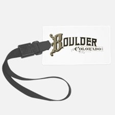 Boulder Colorado Luggage Tag
