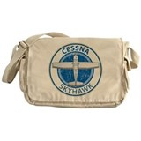 Cessna 172 Canvas Messenger Bags