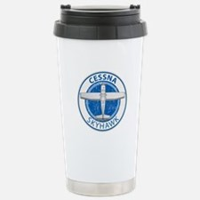 Aviation Cessna Skyhawk Travel Mug