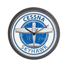 Aviation Cessna Skyhawk Wall Clock