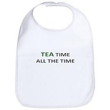 TEA TIME ALL THE TIME Bib