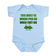 Twin Peaks, Where Pies Go To Die Body Suit