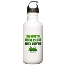 Twin Peaks, Where Pies Go To Die Water Bottle