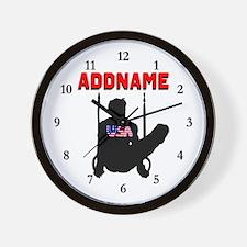 AMERICAN GYMNAST Wall Clock