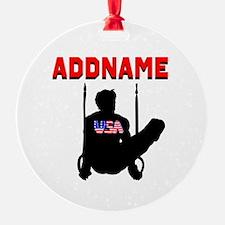 AMERICAN GYMNAST Ornament