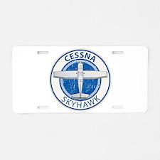 Aviation Cessna Skyhawk Aluminum License Plate