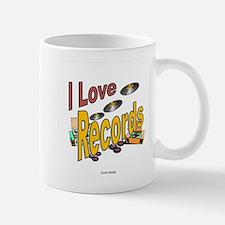 I Love Records Mug