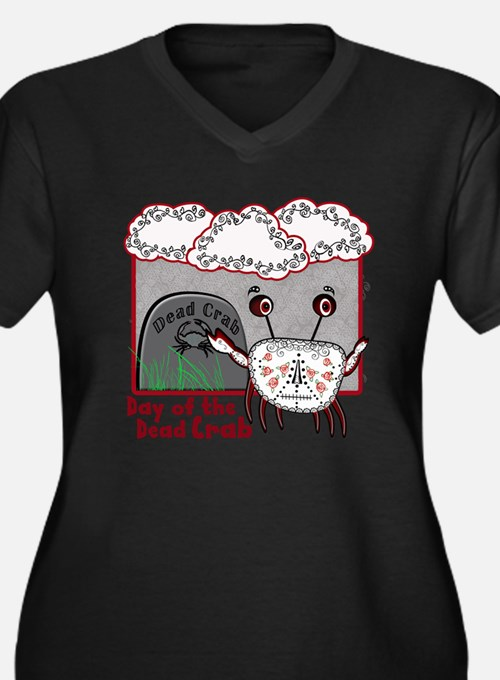 Day of the Dead Crab Plus Size T-Shirt