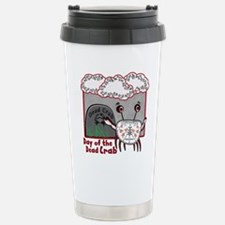 Day of the Dead Crab Travel Mug