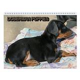 Doberman puppy Calendars