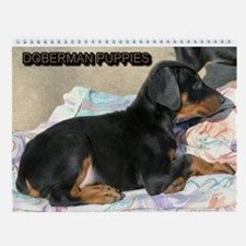 Doberman Wall Calendar
