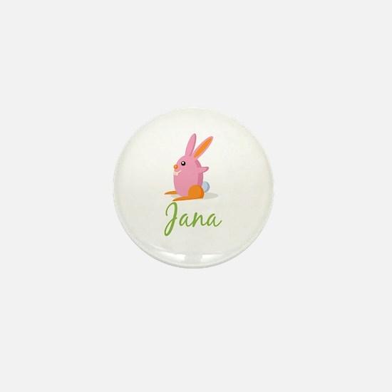 Easter Bunny Jana Mini Button
