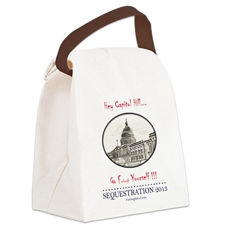 Hey Capitol Hill! Canvas Lunch Bag