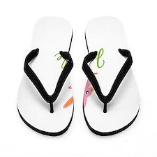 Easter Bunny Janelle Flip Flops