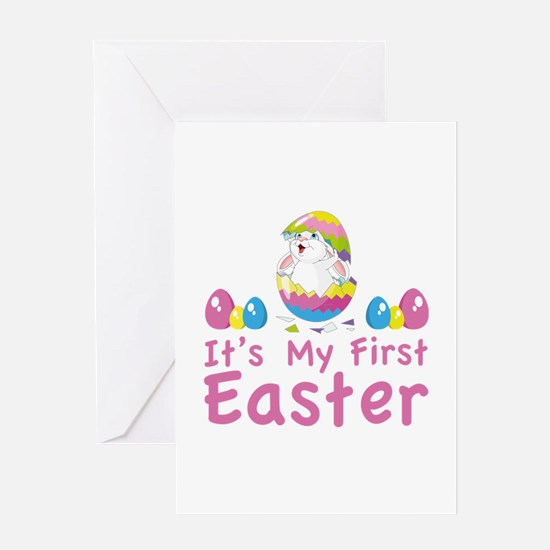 It's my first easter Greeting Card