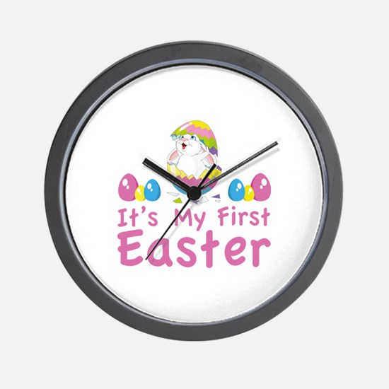It's my first easter Wall Clock