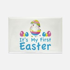 It's my first easter Rectangle Magnet