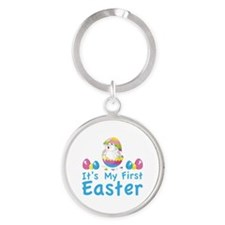 It's my first easter Round Keychain