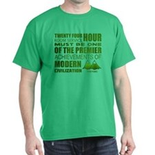 Twin Peaks Room Service Quote T-Shirt